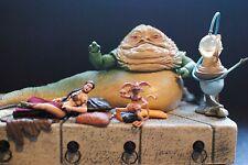 Star Wars Jabba the Hutt Throne Huka Palace ROTJ VC64 Slave Princess Leia Figure