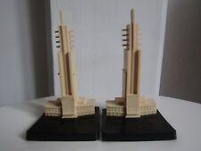 Two Tait Tower plastic commemorative models ,1938 Empire Exhibition, Glasgow,