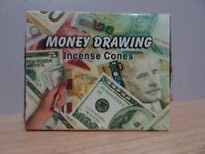 Money Drawing Incense Cones  1 Box of 10   Kamini  Free Post AU