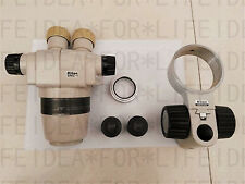 Nikon Smz-1 Microscope Head + 0.7X Objective+nikon 20X/12 eyepieces +Holder C32Z