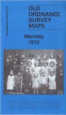 OLD ORDNANCE SURVEY MAP BRISTOL WARMLEY 1912