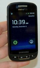 "Samsung Admire SCH-R720 BLACK Android Smart Phone Metro PCS WiFi 3.5"" LCD -B"