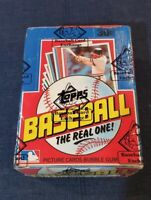 1982 Topps Baseball Cards BBCE Sealed Unopened Wax Box