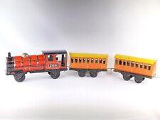 Wells Brimtoy Tinplate Floor Train circa 1930's Rare Example #260 Good Condition