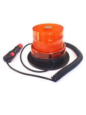 LED Rundumleuchte Warnleuchte Blitzleuchte mit Magnetfuß 12V 24V 40 LED R65 R10