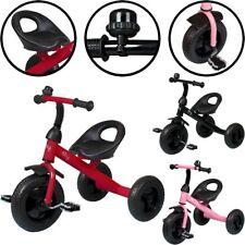 PREMIUM Kinder Dreirad MIT KLINGEL bis 25kg Roller Laufrad Rad Fahrrad Dreiräder