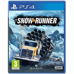 SnowRunner: A MudRunner (PS4 PlayStation)