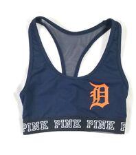 Victorias Secret Pink Ultimate Unlined Xs Mlb Detroit Tigers Sport Bra Blue