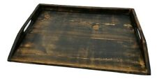 Primitive Stove Cover Noodle Board Hand Crafted Heavy Distressed