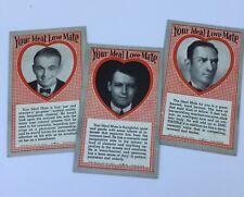 Vintage Arcade Machine Cards Your Ideal Love Mate Future Fortune Souvenir