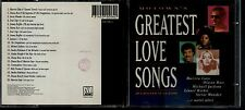 CD 2662 MOTOWN'S GREATEST LOVE SONGS