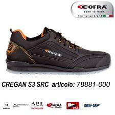 Scarpa Antinfortunistica Cofra CREGAN S3 SRC pelle antiabrasione idrorepellente