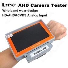 "EYOYO Wristband 5"" 1080P AHD CVBS CCTV Camera Cam Test Monitor Tester 12V-Output"
