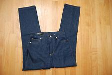 Dark Blue Lightweight Cotton Denim ESCADA Straight Leg Jeans US 4
