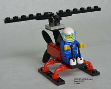 1995 LEGO Classic Town Gyrocopter (2849) COMPLETE w/ Instructions (no box)