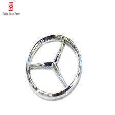 50MM-51MM Mercedes-Benz steering wheel Center logo Silver Emblem Paste Badges