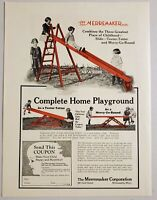 1926 Print Ad The Merremaker Complete Home Playground Slide Minneapolis,MN