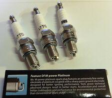 3 x Zündkerze für China 4 Takt Motoren 110 / 125 ccm Quad Dirtbike  A7T --NEU--