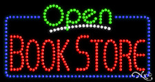 """New """"Open Book Store"""" 32x17 Solid/Animated Led Sign W/Custom Options 25470"""
