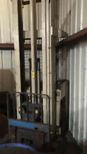Used Crown 45Rrtt-S Stand-Up Reach Forklift for parts or repair