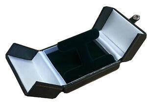 Green Double Door Dubai Range leather Gift Box Dangle Earring Box Free Postage