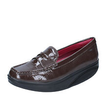 women's shoes MBT 9 / 9,5 (EU 40) loafers brown patent leather dynamic BZ916-F