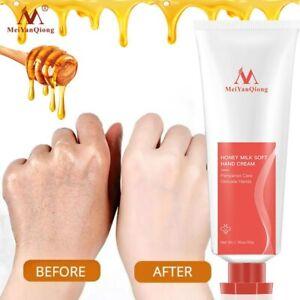 Honey Milk Soft Hand Cream Lotions Serum Repair Nourishing Hand Skin Care Anti