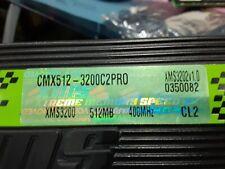 Corsair LED XMS3200 CMX512-3200C2PRO XMS3202v1.0 1GB Set 512MBx2 400MHz CL2