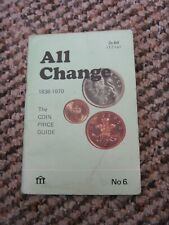 All change booklet No 6