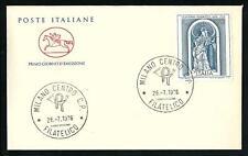 Italia 1976 : Giacomo Serpotta - FDC Cavallino / 1° giorno di emissione