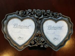 Russ - Victoriana Two Hearts Picture Frame