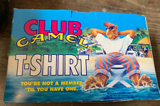 Joe Camel Club Member PROMOTIONAL TShirt XL Package 1990's Tobacco New Old Stock