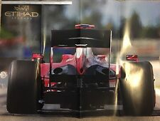 Ferrari F1 Poster Etihad Airways