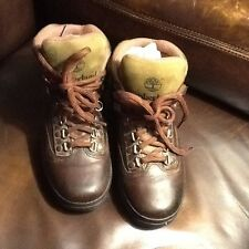 Nice Timberland Leather Hike/walk Boots,size 6 Boys Or Ladies