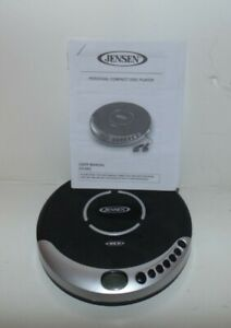 Jensen personal cd player with shock protection.test cd-60c