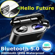 Bluetooth 5.0 Sports IPX6 Earphone 5D Wireless Headsets Headphone Earbuds Stereo