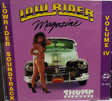 LOWRIDER SOUNDTRACK v.4 THUMP RECORDS 1992 OLD SCHOOL OLDIES LOWRIDER HTF OOP