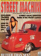 February Street Machine Transportation Monthly Magazines