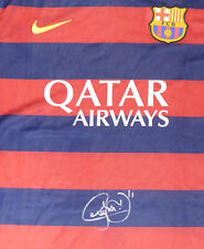 NEYMAR JR. AUTOGRAPHED BARCELONA NIKE AUTHENTIC JERSEY SIZE XL PSA/DNA 176337