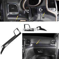Carbon Fiber Center Console Stripe Decorative For Jeep Grand Cherokee 2014-2019