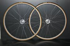 Vintage track wheelset Campagnolo Record hubs 36h