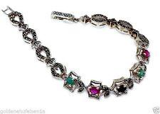 Echte Edelstein-Armbänder mit Rubin für Damen