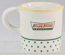 a87a267705d Krispy Kreme Doughnuts Coffee Cup Mug Inside Center Raised Donut