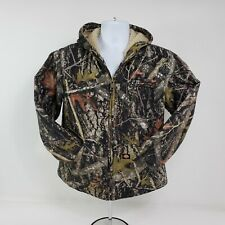 Dickies Boys Camo True Timber Sherpa Lined Hooded Jacket XL Conceal Hunting