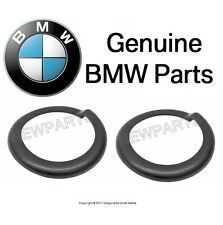 BMW E10 1602 2002 2002tii Set of 2 Front Spring Pads Lower + Upper Genuine