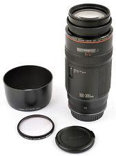 Canon zoom lens EF 100-300 1:5,6 L (Aspherical) presque comme neuf Condition A -!!!