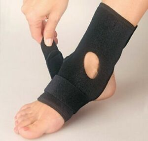 NEW Ankle Support Wrap Strap Adjustable Achilles Custom Fit Targeted Compression