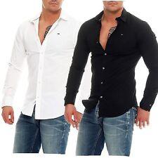 Tommy Hilfiger Denim Slim Fit Hemd 1957888891 langarm Stretch Shirt