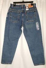 Levis Womens 550 size 14S  Medium Misses Tapered Leg Relaxed Fit NWT