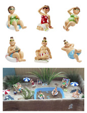 Figura Decorativa Ocio 6 CM Medio Playa Palma Mesa Regalo de Dinero, Hobbyfun